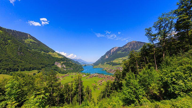 Lungern, Zwitserland van Henk Meijer Photography