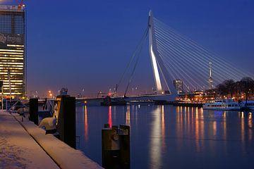 Rotterdam / KPN /Erasmusbrug / Euromast sur