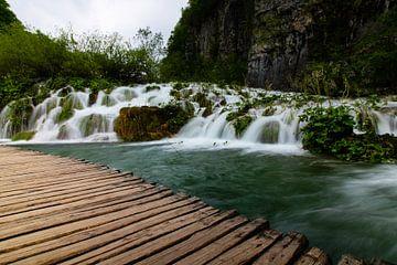 Kleine watervallen van Jennifer Hendriks