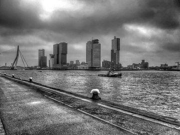 City landscape Rotterdam (The Netherlands) sur Rob van der Pijll