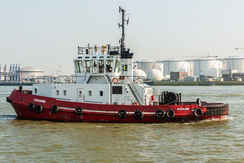 Sleepboot Texelbank Rotterdam van Brian Morgan