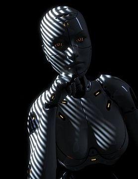 Android Noir van Xanathon