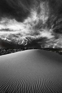 White Desert in Black and White - 2 van Vera Vondenhoff