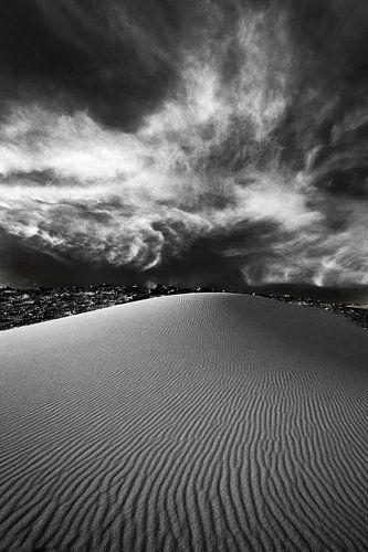 White Desert in Black and White - 2