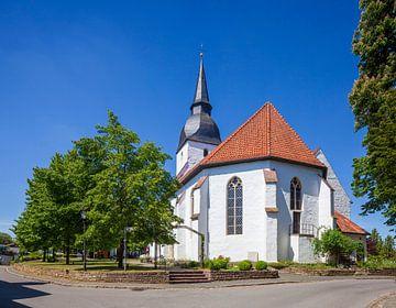 Kerk, Stemwede-Levern, Gemeente Stemwede, Noordrijn-Westfalen, Duitsland, Europa