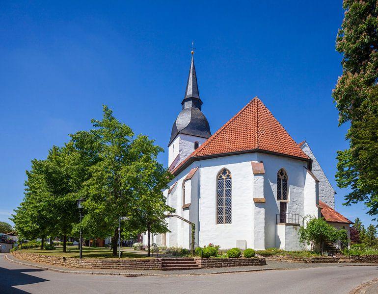 Kirche, Stemwede-Levern, Gemeinde Stemwede, Nordrhein-Westfalen, Deutschland, Europa von Torsten Krüger