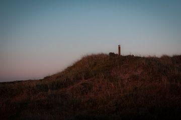 Zonsondergang in Skagen II van