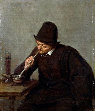 Ein rauchender Mann, Adriaen van Ostade
