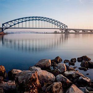 IJsselbruggen bij Zwolle von Erwin Zeemering