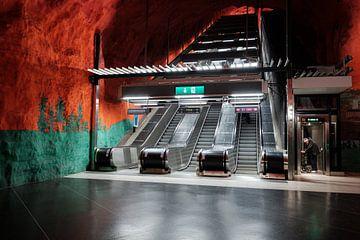 Métro de Stockholm sur Kevin IJpelaar