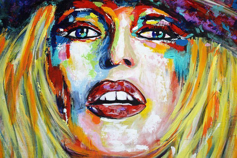 """Brigitte BARDOT """"Rücksicht"""" von Kathleen Artist Fine Art"""