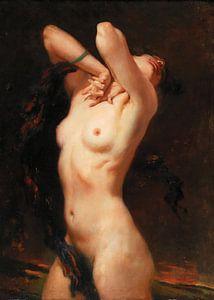 Stehender weiblicher Akt von Antonije Lazovic