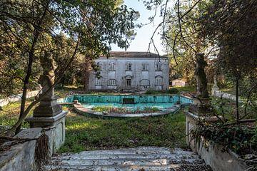 Villa mit Pool von Matthis Rumhipstern