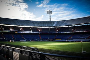 Stadion Feijenoord  van Robbert Wilbrink