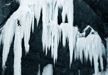 Cascade de Glace sur Menno Boermans