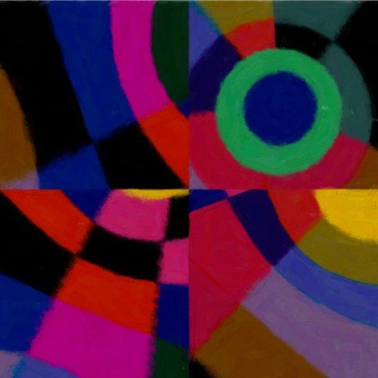 Geometric design van Martine Affre Eisenlohr