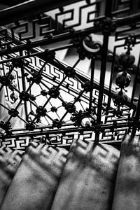 Art Nouveau trappenhuis van