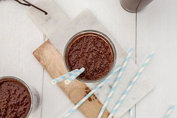 Chocolade smoothie van Nina van der Kleij