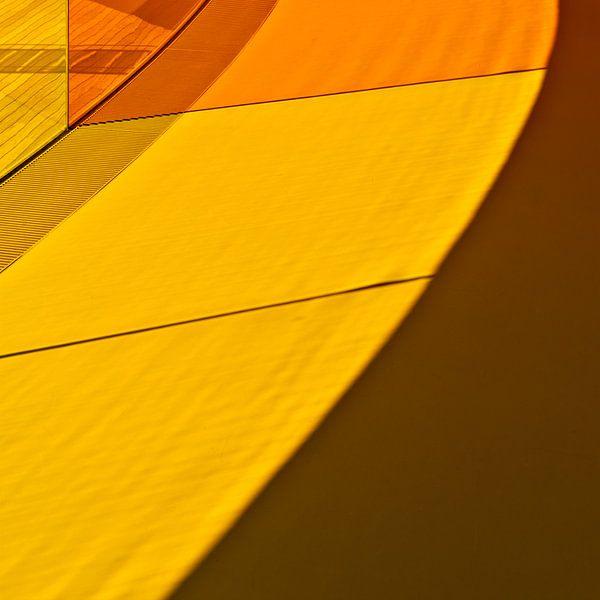 Geel en oranje sur Maerten Prins