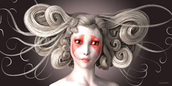 Japanisches Fashion Model von Britta Glodde
