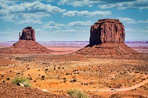 weg door Monument Valley