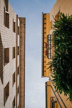 Architectuur Valencia, Spanje   Gekleurde huizen   Stedentrip   Fotografie van Melody Drost