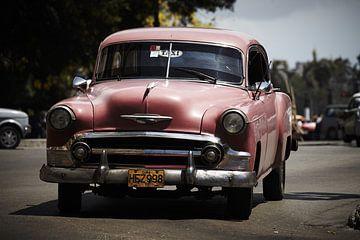 Cubaanse klassieke auto van Karel Ham