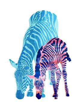Striped Love (white) sur Goed Blauw