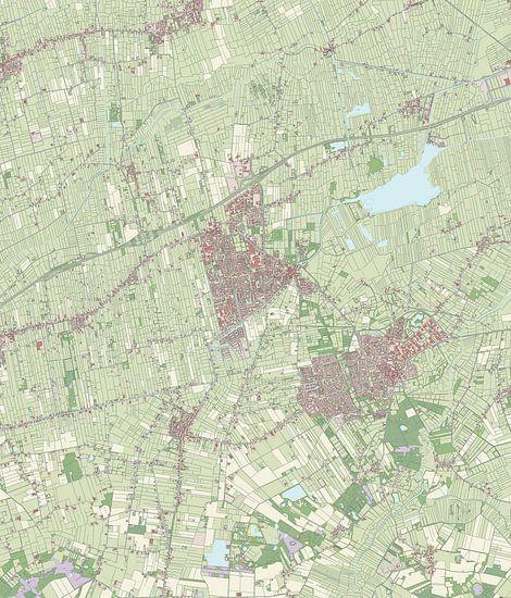 Kaart vanLeek