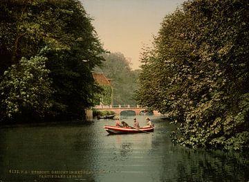 In het park, Utrecht sur Vintage Afbeeldingen