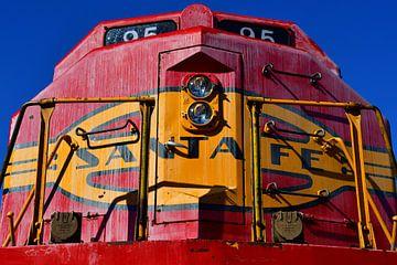 Santa Fe 95 Locomotief van Rob Walburg
