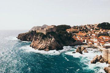 Dubrovnik fort Kroatië van