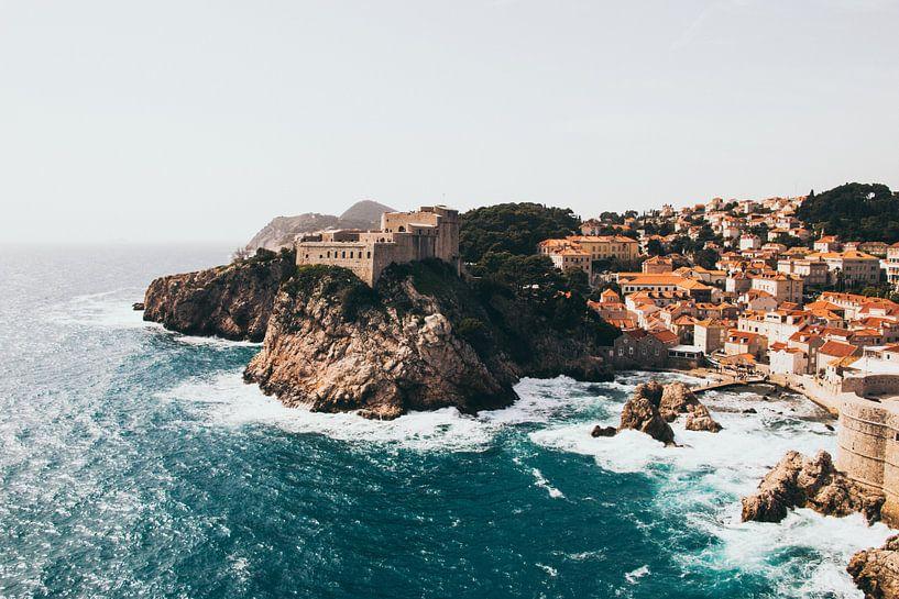 Dubrovnik fort Kroatië van Jessie Jansen