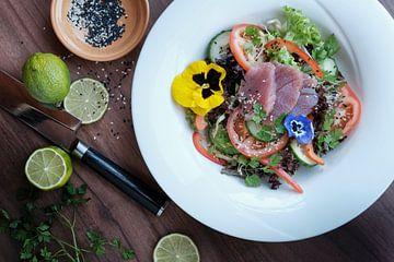 Tonijn salade van Björn Jeurgens