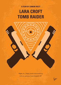 No209 Lara Croft Tomb Raider minimal movie poster van Chungkong Art