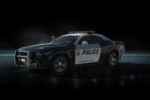 Metro Police Car van H.m. Soetens