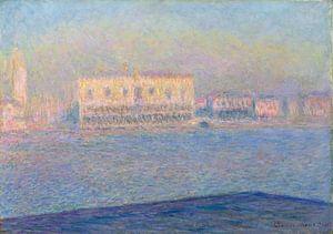 Het Dogenpaleis Gezien vanuit San Giorgio Maggiore, Claude Monet van Meesterlijcke Meesters