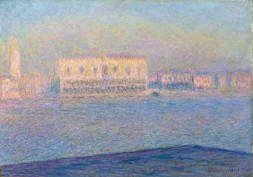 Der Dogenpalast gesehen von San Giorgio Maggiore, Claude Monet