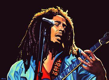 Bob Marley Tuff Gong schilderij van Paul Meijering
