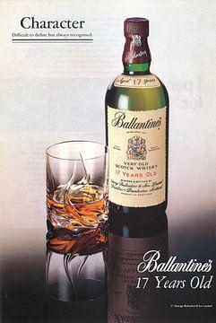Ballantine Werbung 70er Jahre von Jaap Ros