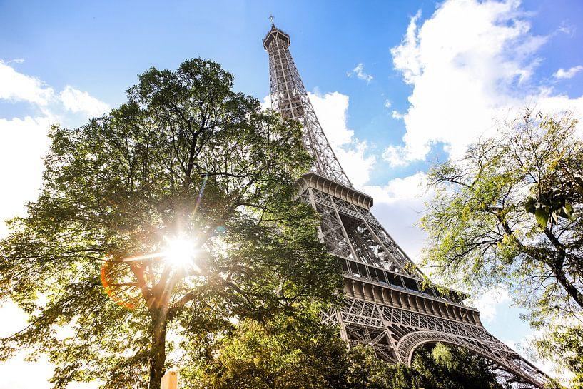 Paris Eiffel Tower van Mark Zanderink