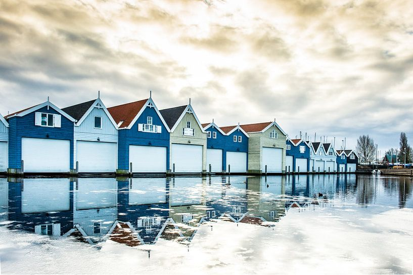 De boothuisjes  van Inge Jansen
