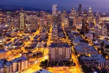Abend in Seattle, Vereinigte Staaten von Rob van Esch