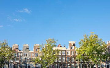 Amsterdam-traditionelle alte Gebäudefassaden an den Kanälen von Sjoerd van der Wal