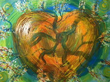 Herz Innenleben van Katrin Behr