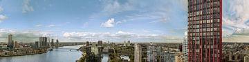 Panorama of Rotterdam van Jerome Coppo