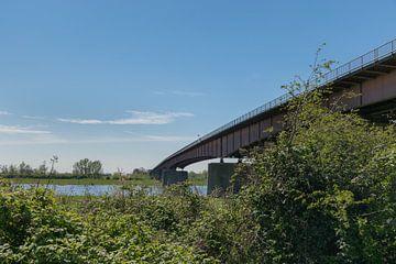 Rijnbrug Rhenen op mooie zonnige dag van Patrick Verhoef