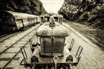 Locomotive sur Fotografie Arthur van Leeuwen