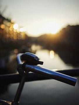 Fahrrad auf dem Kanal von Phil Yisrael