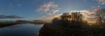 Geestmer-Boot am frühen Morgen von FotovanHenk